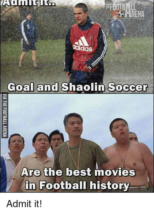 Adidas Goal and Shaolin Soccer Are the Best Movies in