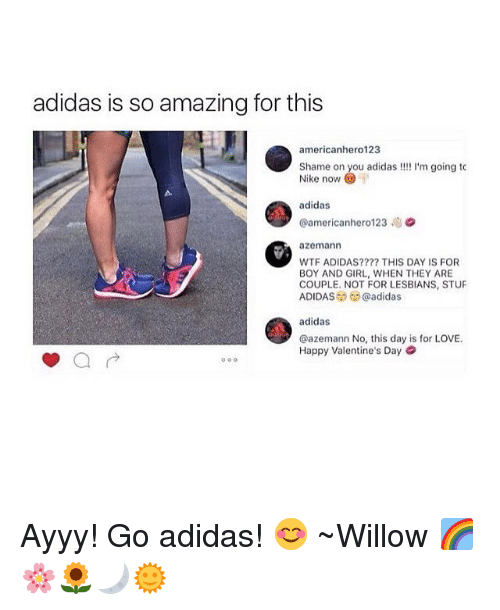 Adidas Is So Amazing for This Americanhero123 Shame on You Adidas M ... ac0d400581