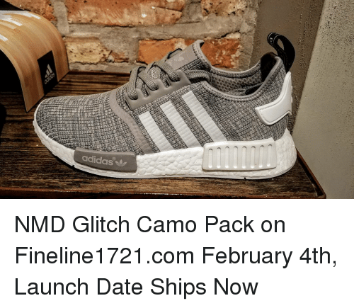 Cheap Adidas NMD R1 Glitch Core Black Camo NMD Duck Camo
