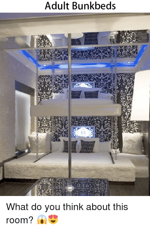 adult bunk beds what do you think about this room 20534365 adult bunk beds what do you think about this room? 😱😍 meme on me me
