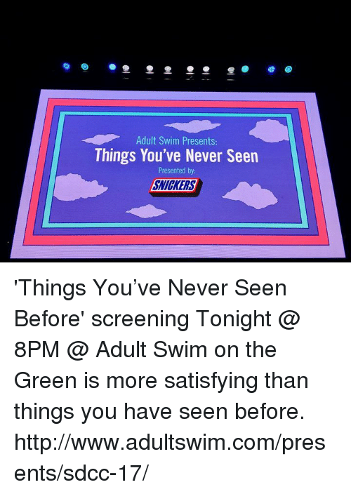 i never knew you adult swim