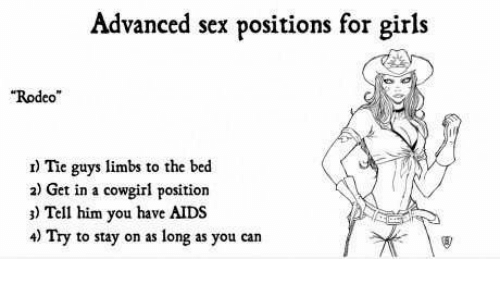 Advanced position sexual
