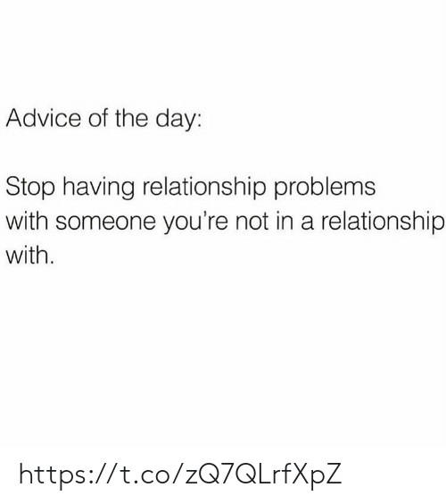 Advice On Relationships Problems