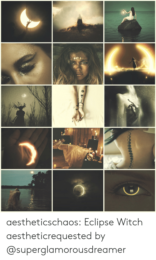 Tumblr, Aesthetic, and Blog: aestheticschaos:  Eclipse Witch aestheticrequested by @superglamorousdreamer