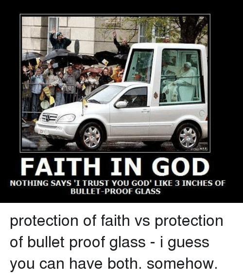 AF FAITH IN GOD NOTHING SAYS I TRUST YOU GOD LIKE 3 INCHES