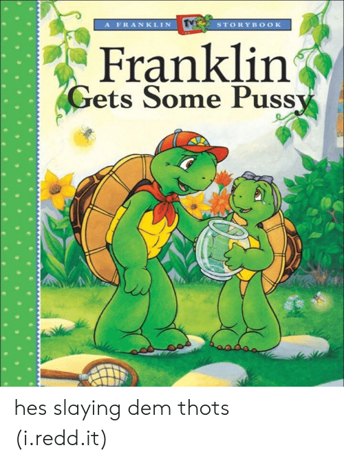 Redd, Puss, and Dem: AFRANKLIN  STORYBOOK  Franklin  Gets Some Puss hes slaying dem thots (i.redd.it)