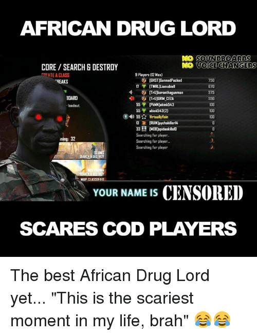 AFRICAN DRUG LORD DO SOUNDBOARD S VOICE CHANGERS CORE SEARCH