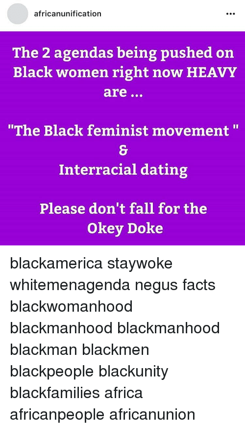 Interracial dating facts