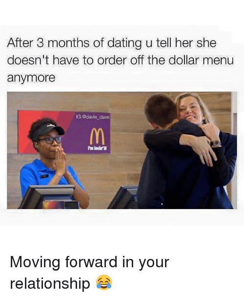 moving in after 3 months of dating