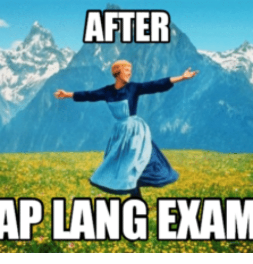 After Ap Lang Exam Aps Meme On Me Me