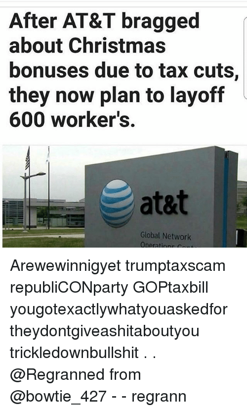 Image result for layoffs and tax cuts