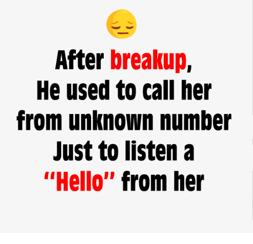 When will he call after a break up