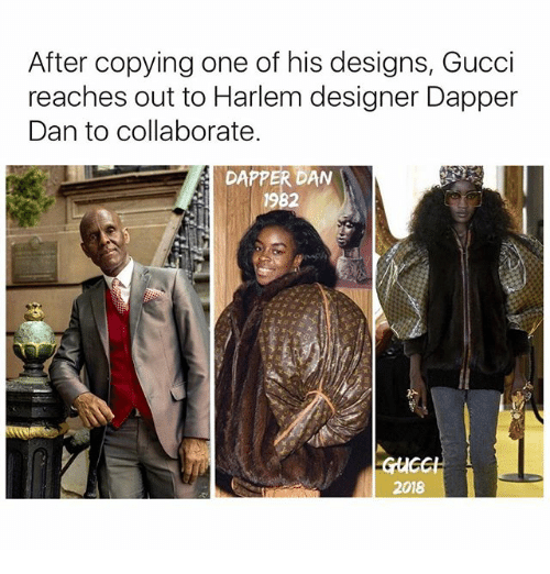 After Copying One Of His Designs Gucci Reaches Out To Harlem