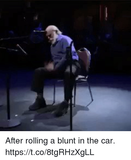 2be2a08ab95 After Rolling a Blunt in the Car Httpstco8tgRHzXgLL | Funny Meme on ...