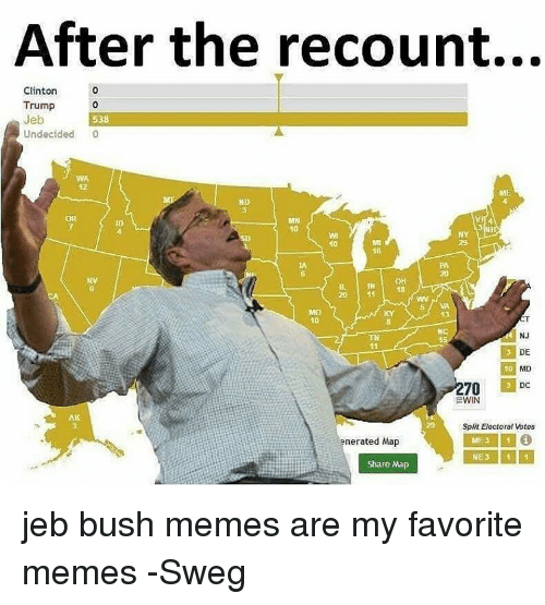 after the recount clinton trump jeb 538 undecided 0 me 7700469 after the recount clinton trump jeb 538 undecided 0 me nd mn 10 ny