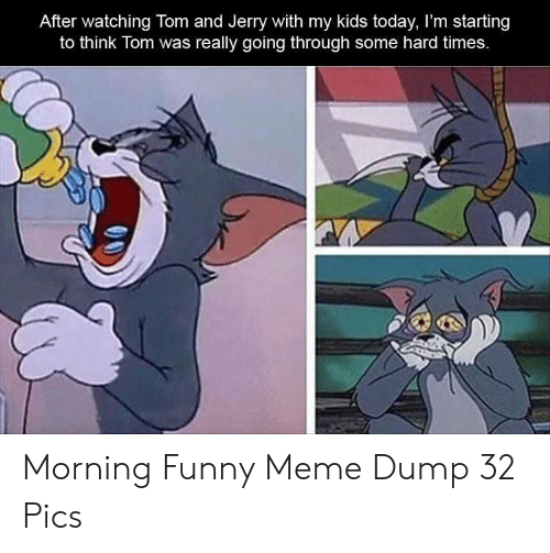 Tom And Jerry Memes Tom Funny Pics
