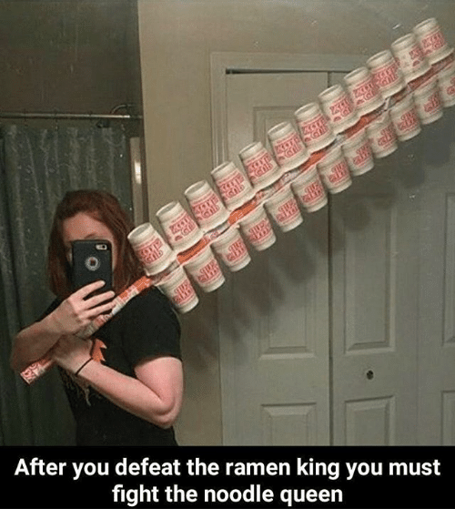 After You Defeat The Ramen King You Must Fight The Noodle Queen