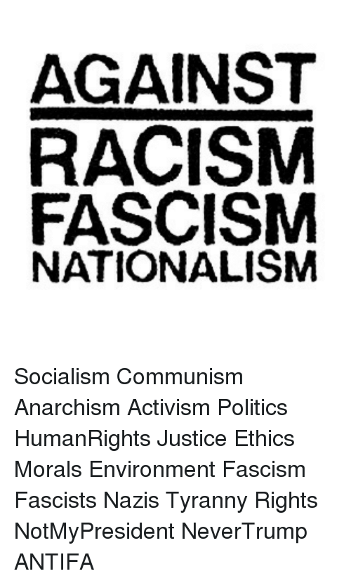 the opposing political ideologies of socialism and fascism Compare communism fascism  nazism andfascism are political ideologies- they  communism is an economic philosophy that isconsidered one branch of socialism.