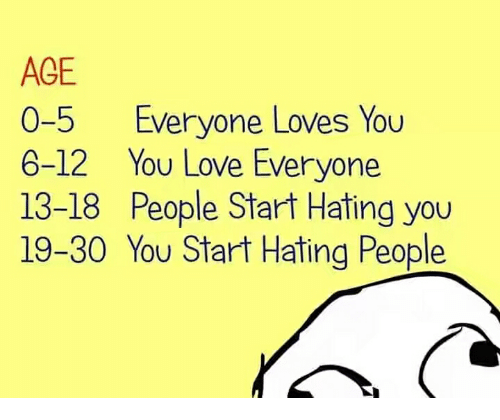 Love Everyone: 25+ Best Memes About Hating People