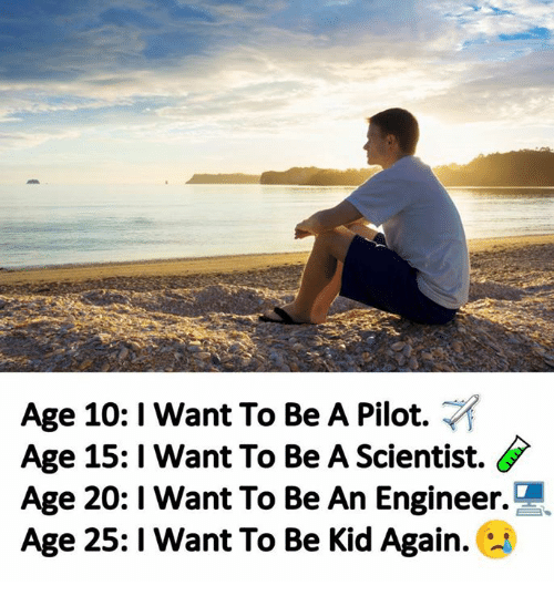 i want to be pilot