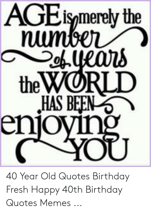 AGE Ismerety the Number Ouears the WORLD HAS BEEN Enjoying ...