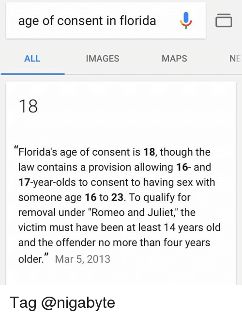 Age Limit For Dating In Florida