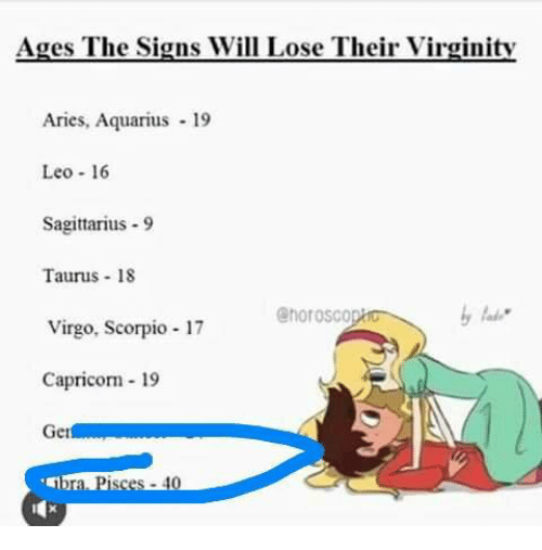 lose virginity when