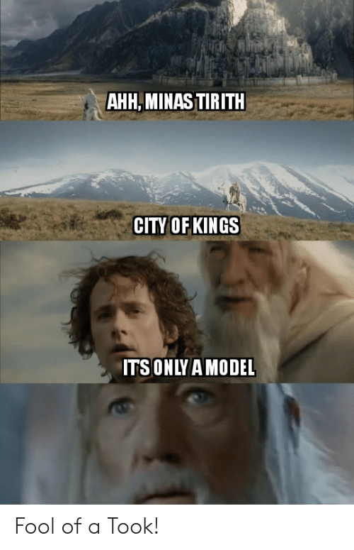 AHHMINAS TIRITH CITY OF KINGS ITSONLYAMODEL Fool of a Took! | Lord