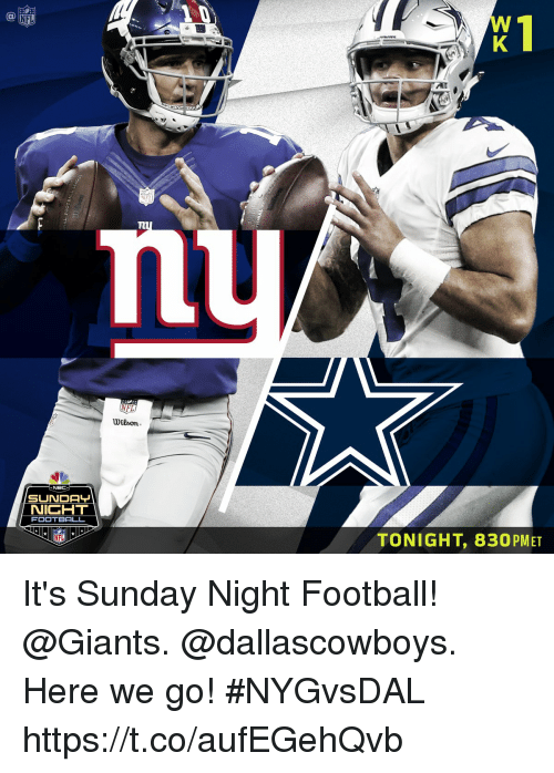 Ai Nfi Nfl Wilson Nicht Football Tonight 830pmet It S Sunday Night Football Here We Go Nygvsdal Httpstcoaufegehqvb Football Meme On Me Me