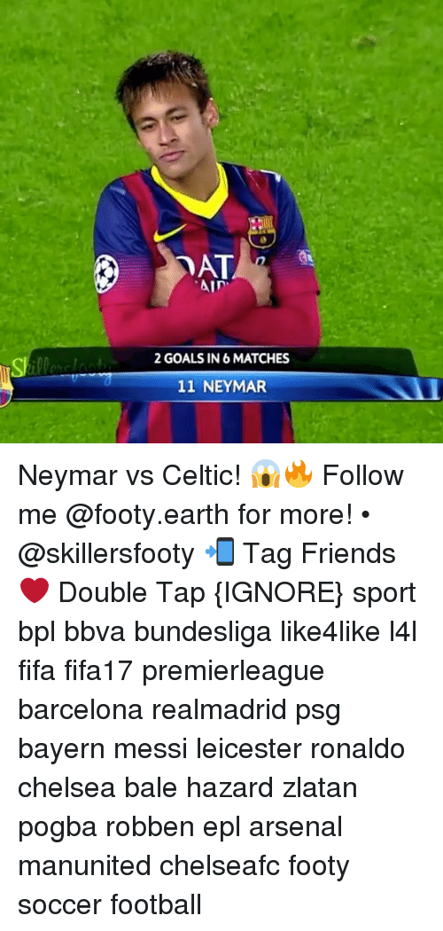 "Arsenal, Barcelona, and Celtic: ""Ain'  2 GOALS IN 6 MATCHES  11 NEYMAR Neymar vs Celtic! 😱🔥 Follow me @footy.earth for more! • @skillersfooty 📲 Tag Friends ❤️ Double Tap {IGNORE} sport bpl bbva bundesliga like4like l4l fifa fifa17 premierleague barcelona realmadrid psg bayern messi leicester ronaldo chelsea bale hazard zlatan pogba robben epl arsenal manunited chelseafc footy soccer football"