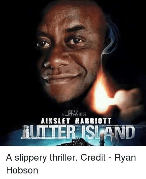 ainsley harriott butter isi and a slippery thriller credit 25068922 ainsley harriott butter isi and a slippery thriller credit ryan