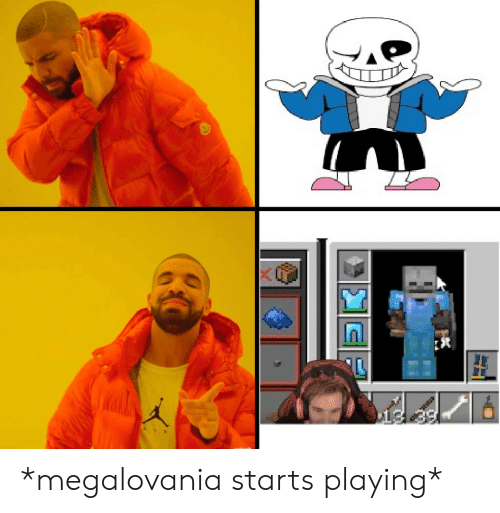AIR 0t3 *Megalovania Starts Playing* | Air Meme on ME ME