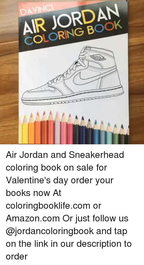 Air Jordan Coloring Book Air Jordan And Sneakerhead Coloring Book On