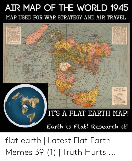 AIR MAP OF THE WORLD 1945 MAP USED FOR WAR STRATEGY AND AIR ...