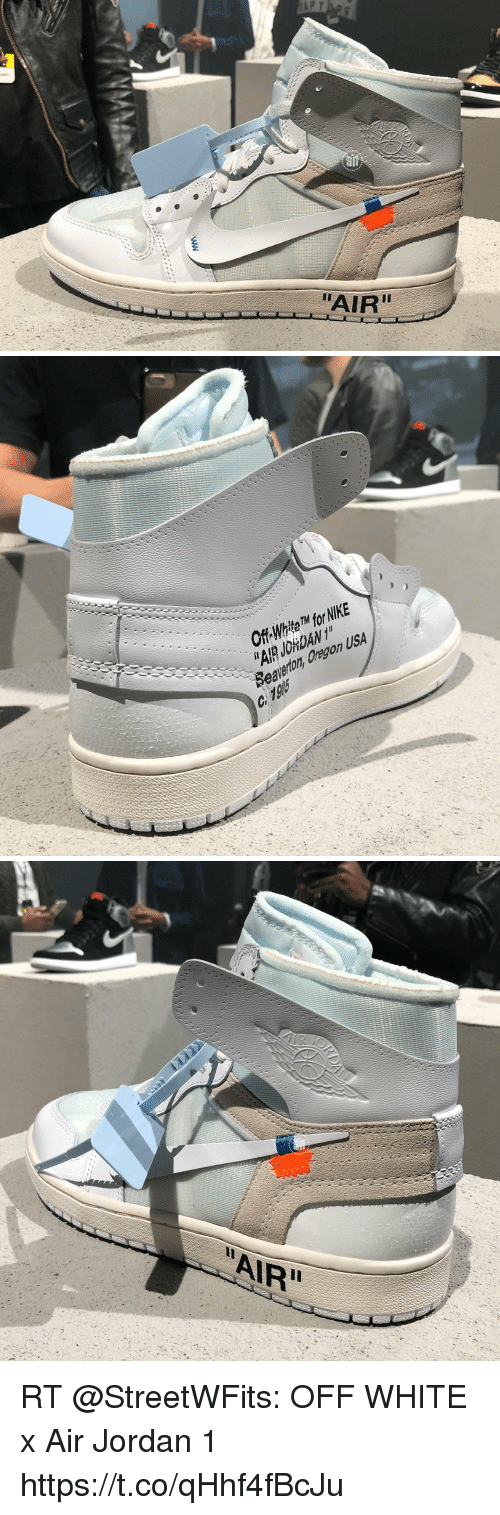 97d0f3901f38 AIR Off WhitM for NIKE RT OFF WHITE X Air Jordan 1 ...