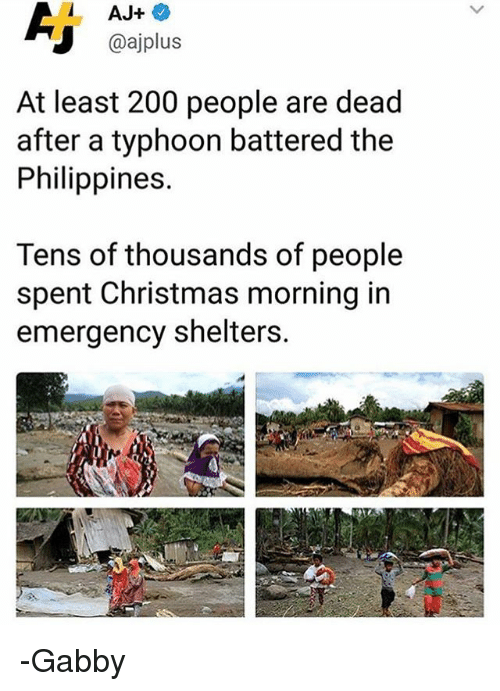Christmas Memes Philippines.At Least 200 People Are Dead After A Typhoon Battered The