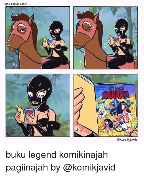"Memes, 🤖, and Legend: AKU PEN  UH DOSA""  @komikjavid buku legend komikinajah pagiinajah by @komikjavid"