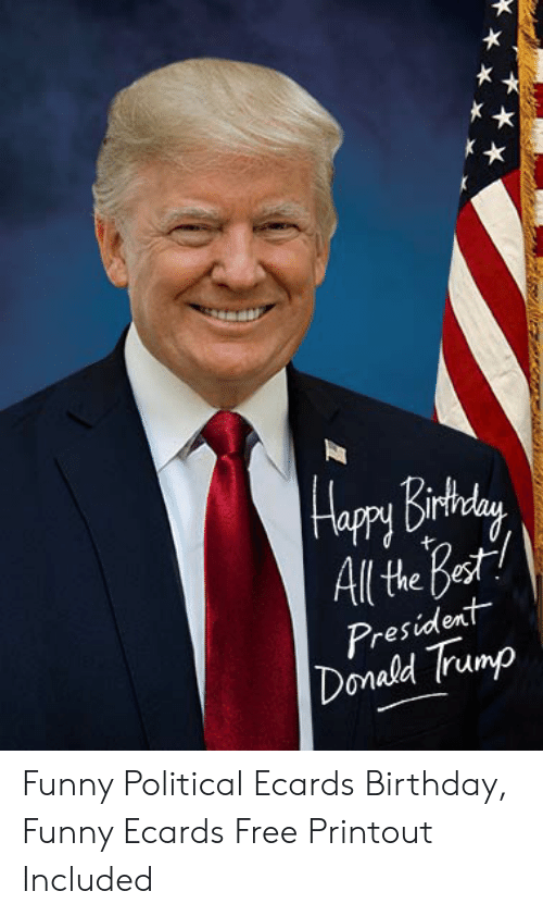 Birthday Donald Trump And Funny Al The Bo Resident Political