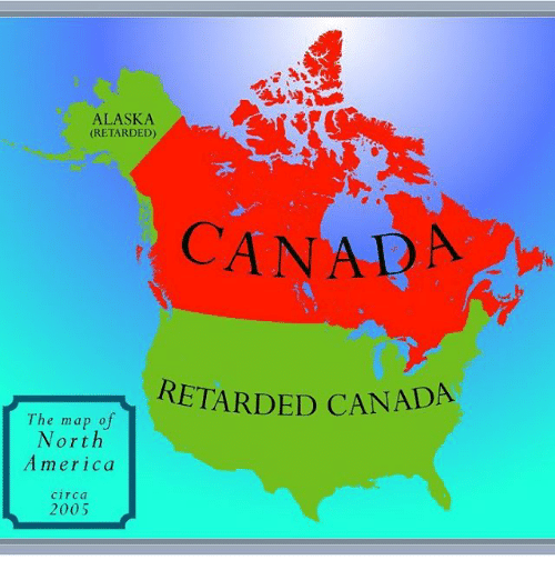 Best Memes About Map Of North America Map Of North - Map of north america and canada