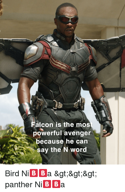 Alcon Is the Mos Powerful Avenger Because He Can Say the N