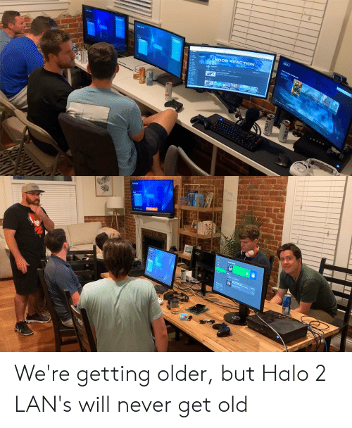 Halo, Old, and Never: ALD 2  NOOB REACTION We're getting older, but Halo 2 LAN's will never get old