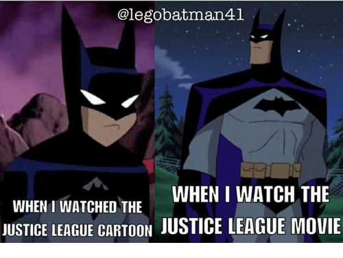 alegobatman41 when i watch the when i watched the justice 10646173 ✅ 25 best memes about justice league movie justice league
