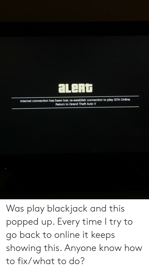 gta v internet connection required