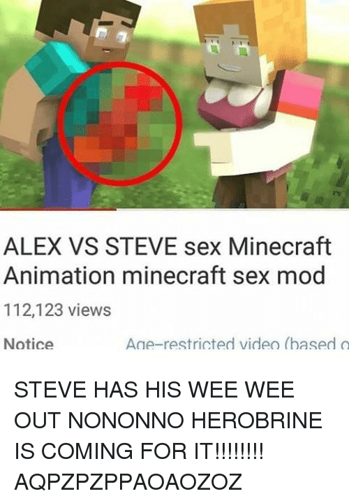 minecraft animation sex