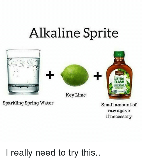 how to make alkaline water with lime