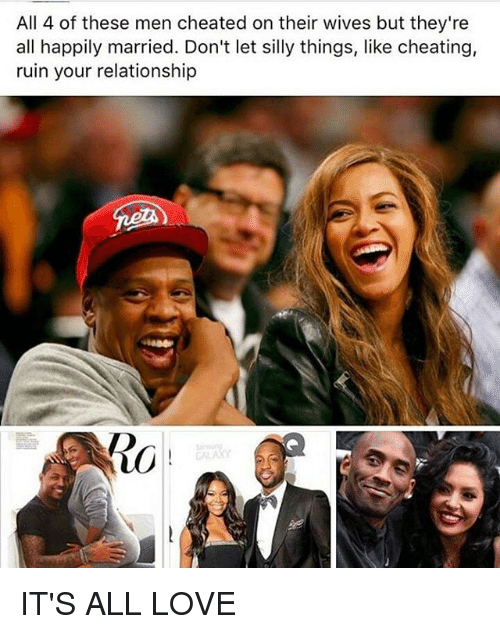 Happily married and cheating