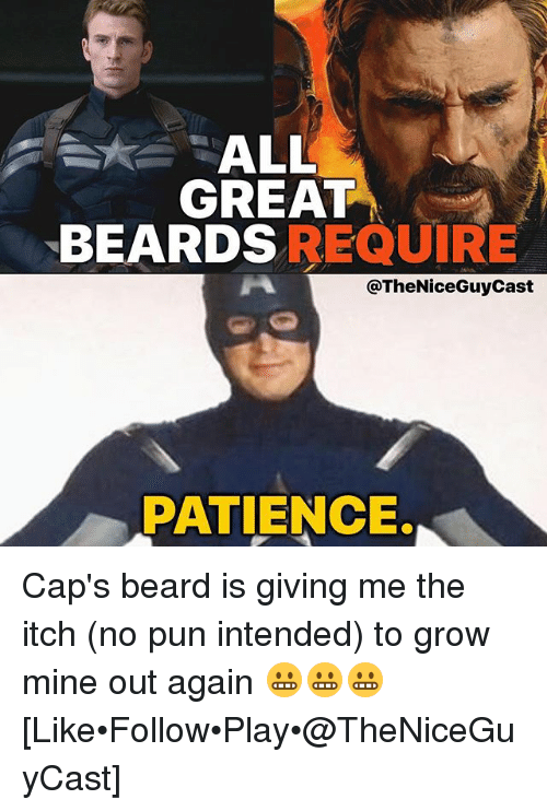 Captain America Beard Meme