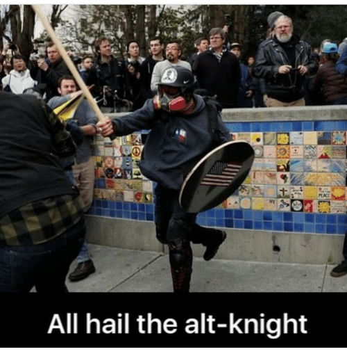 All Hail The Alt Knight Meme On Me Me