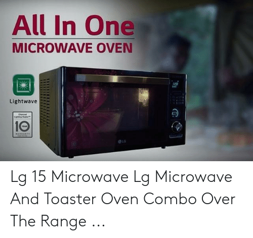 Microwave Oven And Toaster All In One Lightwave Elg