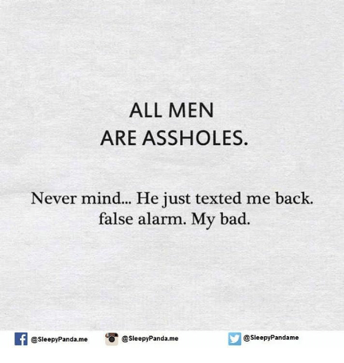 Men that are assholes